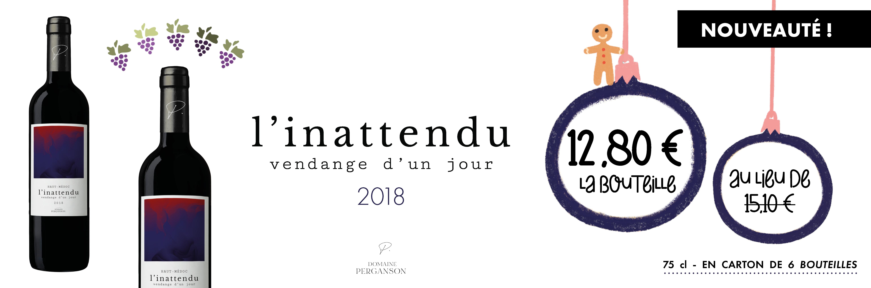 Inattendu 2018 - Domaine Perganson