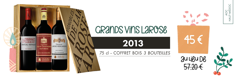 Coffret Grands Vins Larose 2013