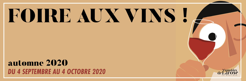 Offre Foire Aux vins 2020